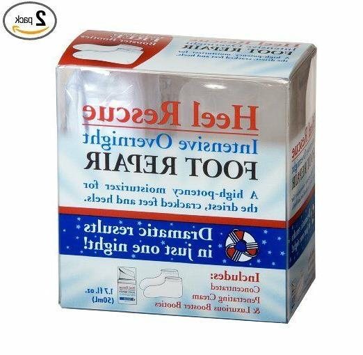 2 Pack of Profoot Care Heel Rescue Intensive Overnight Foot