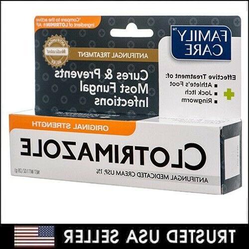 Family Care 831527005052-1 Clotrimazole Anti-Fungal Cream, 1