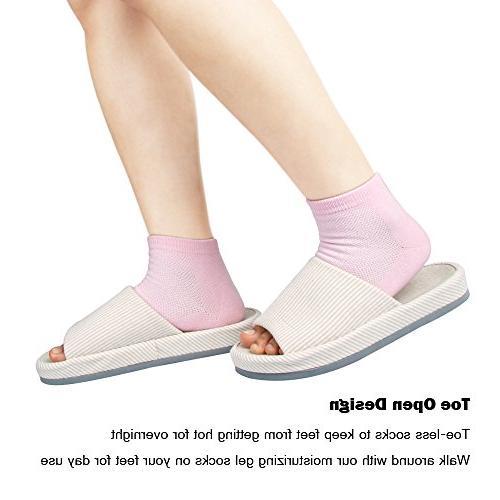 Codream Moisturizing and Socks Night Instantly Soften Eczema Lining with Oils