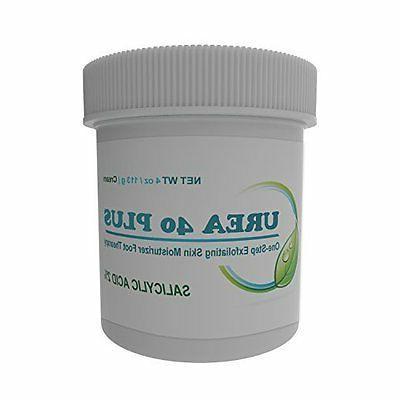 Urea Cream 40 Plus 2% Salicylic Acid Cream, Dermatologist Re