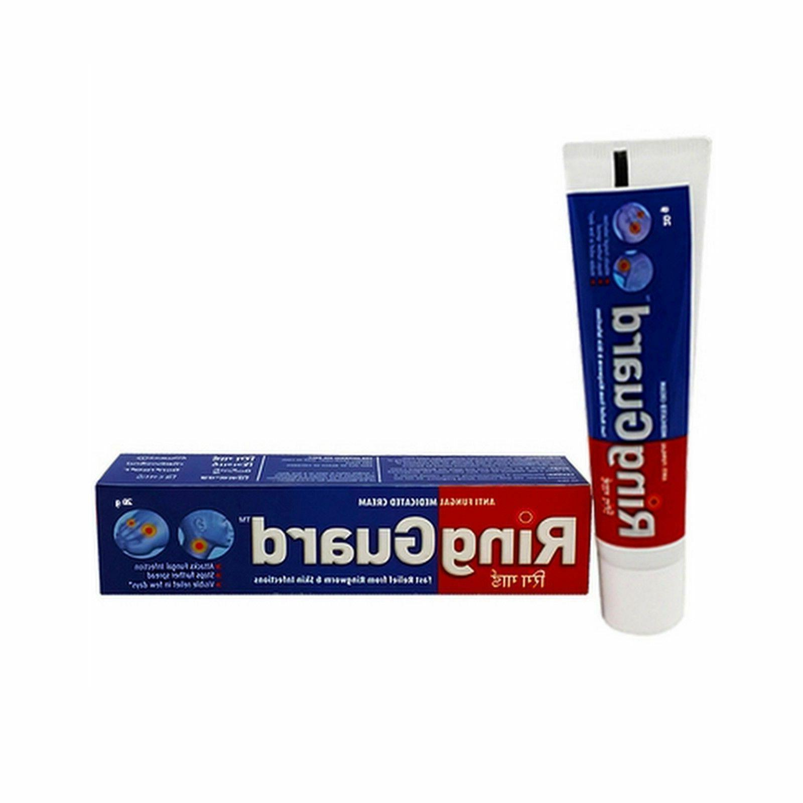 Ring Guard Cream-ringworm,Jock Itch,Athlete foot,Eczema,skin