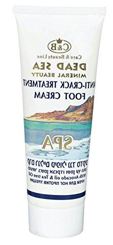 Dead Sea,C&B, Care & Beauty,Anti-Crack Treatment Foot Cream,