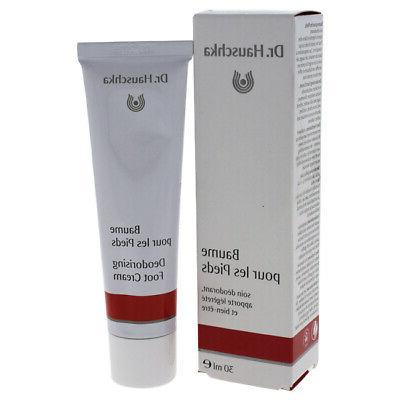 dr hauschka women skincare deodorising foot cream