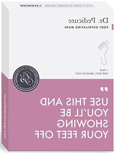 dr pedicure foot exfoliation mask