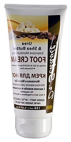 Dr. Schavit Urea & Shea Butter Foot Cream Intensive Moisturi