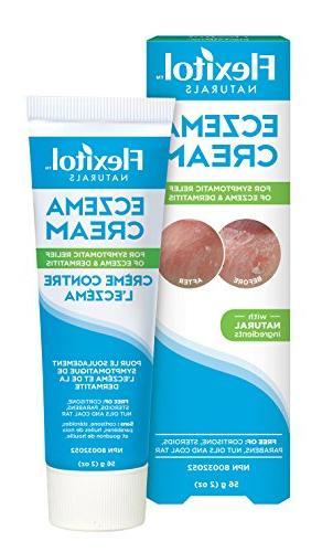 Flexitol Naturals Eczema Cream For the symptomatic relief of
