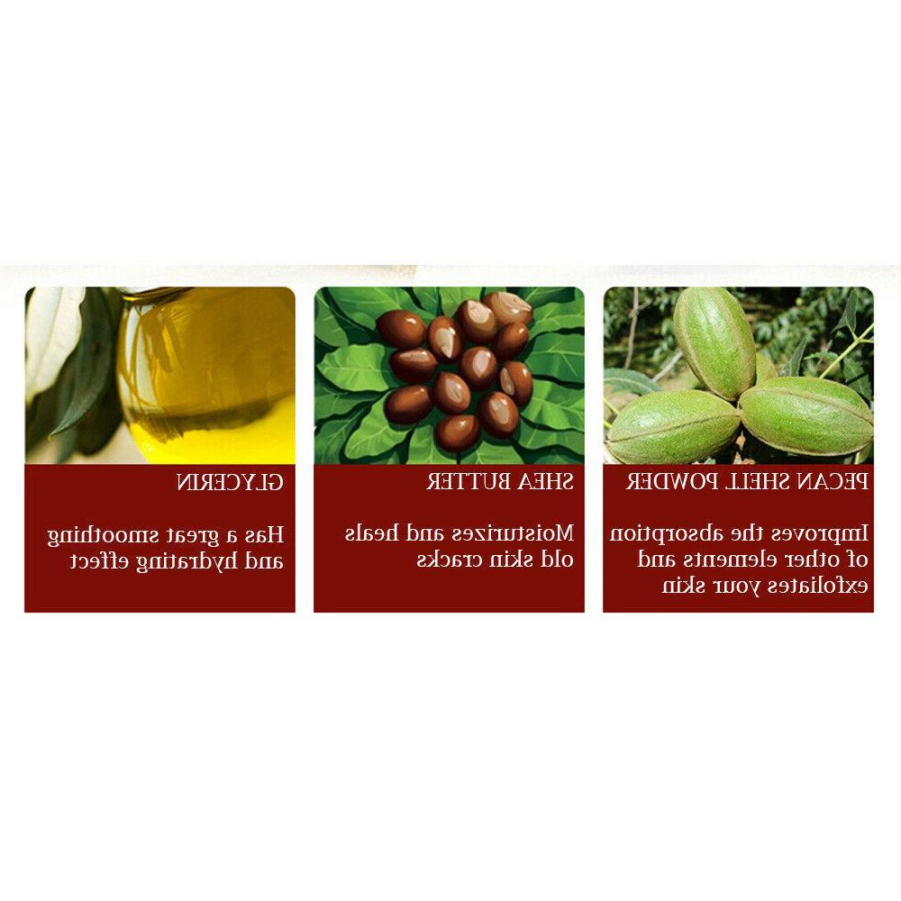 BIOAQUA Foot Herbal Cream Delicate Exfoliate Scrub Skin 180g