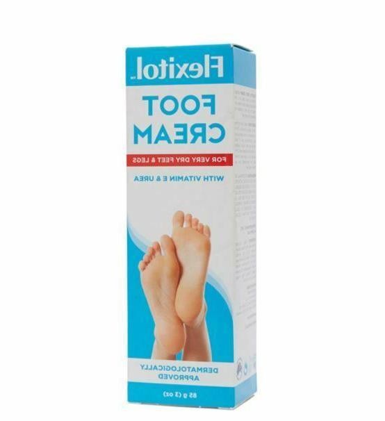 foot cream with vitamin e and urea