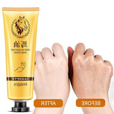 Foot Hand Cream Anti-Aging Horse Oil Dry Skin Care Peeling W