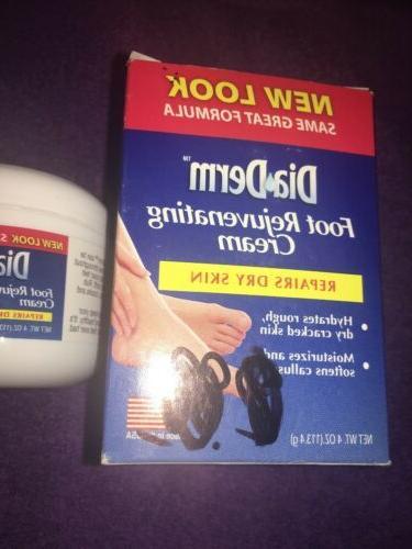 DiaDerm Foot Cream Repairs Marker On New