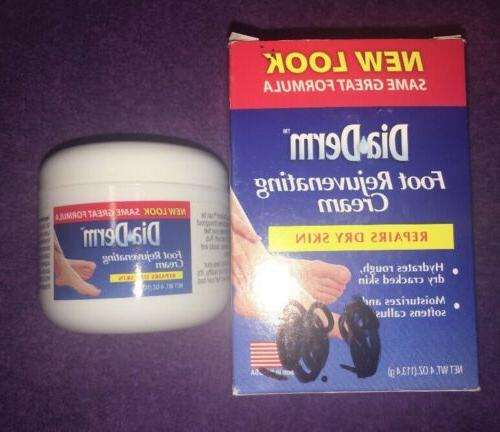 foot rejuvenating cream repairs dry skin 4oz