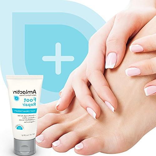 AmLactin Cream Rough, Feet Powerful Alpha-Hydroxy Therapy Gently Exfoliates Lactic |