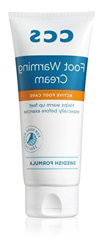 CCS 100 ml Foot Warm Up Cream by CCS