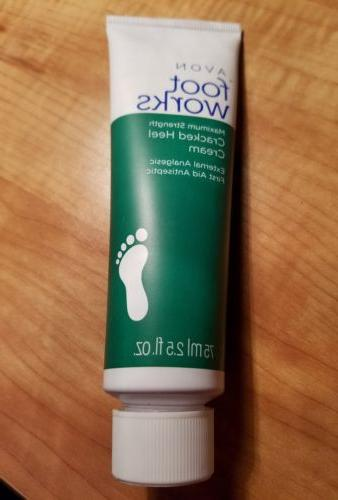 foot works maximum strength cracked heel cream