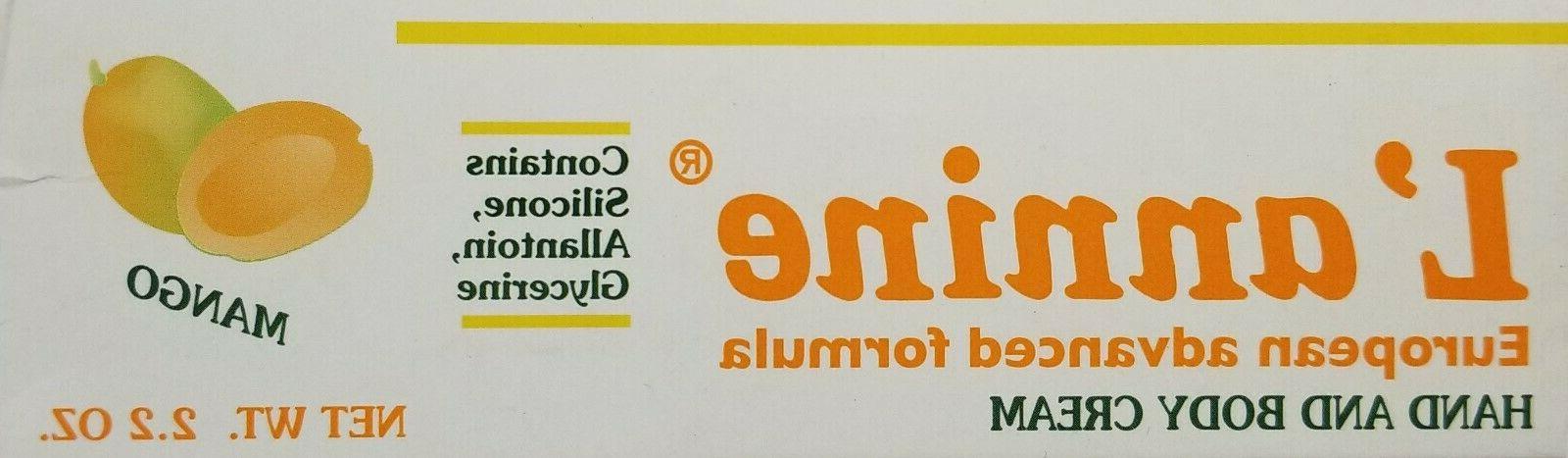 L'annine Hand & body cream European formula Mango 2.2 oz. la