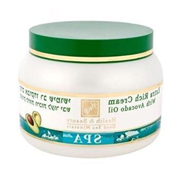health beauty dead sea minerals extra rich avocado cream 250