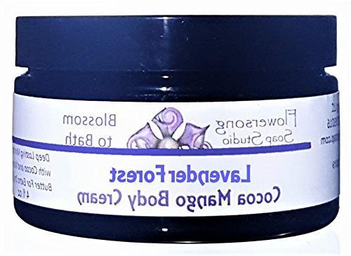lavender mint cocoa mango cream