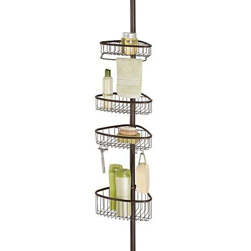 mdesign tension shower caddy pole