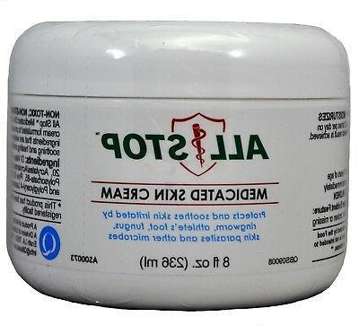 medicated skin cream antifungal healing