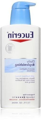 Eucerin Moisturizing Lotion, Daily Replenishing, 13.5-Ounce