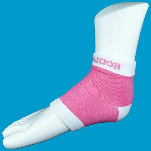 Bodiance Heel Socks or 2 Pairs, Healthy Feet for Cracked Treatment