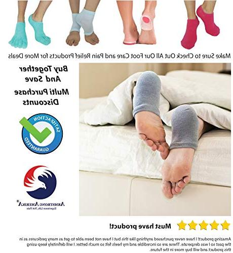 Heels - Aloe to Treat Dry Feet Fast, for Rough Lotion Spa Socks Women & Mens ARMSRONG
