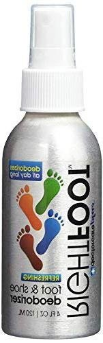 #1 Most Effective Foot and Shoe Deodorant Spray - All Natura