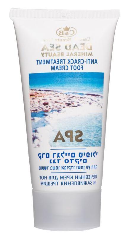 New Anti-Crack Foot Cream C&b Dead Sea Israel Minerals Treat