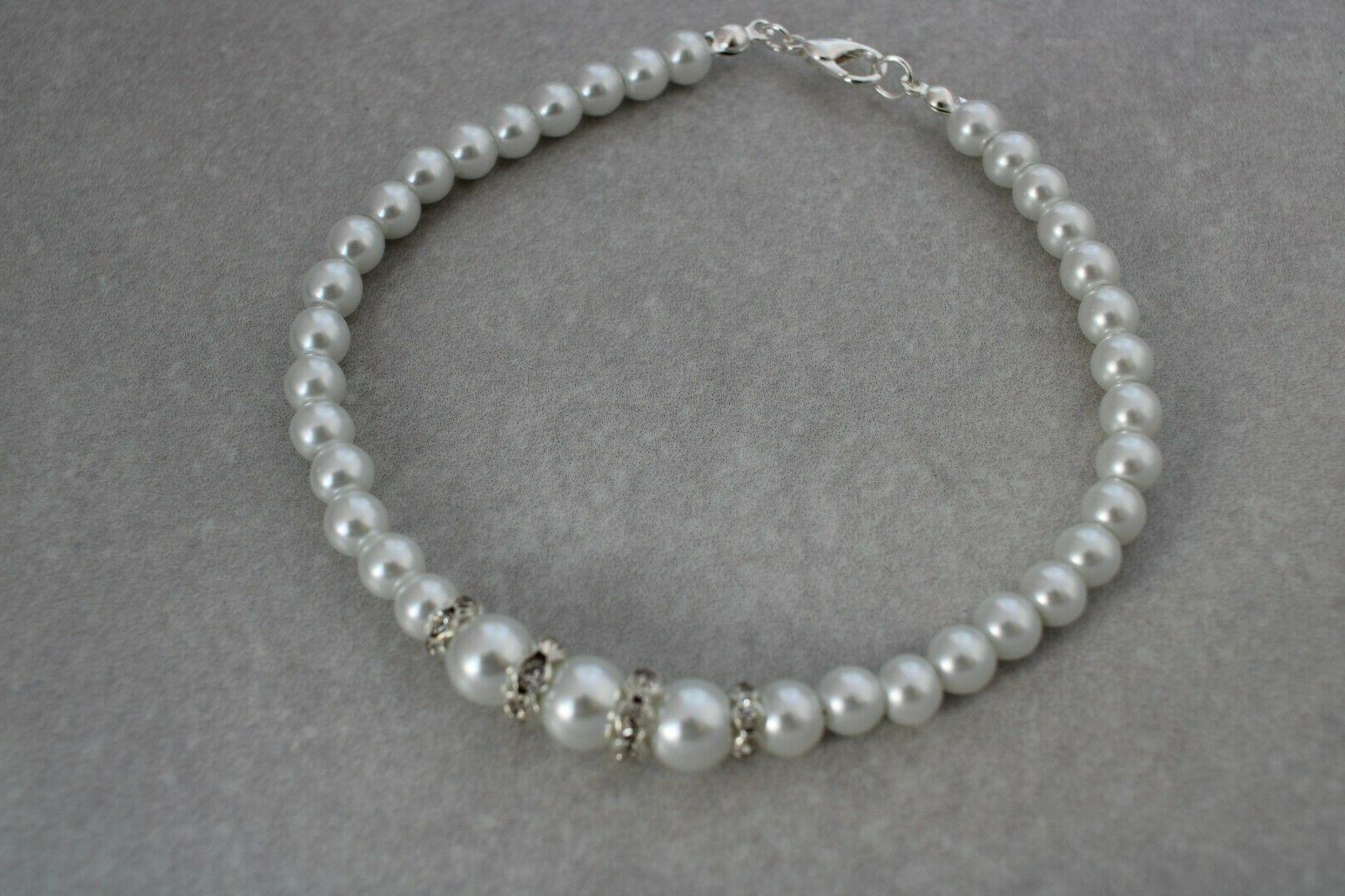 Pearl & Ankle Bracelet Bridesmaids Foot Jewelry E9AN