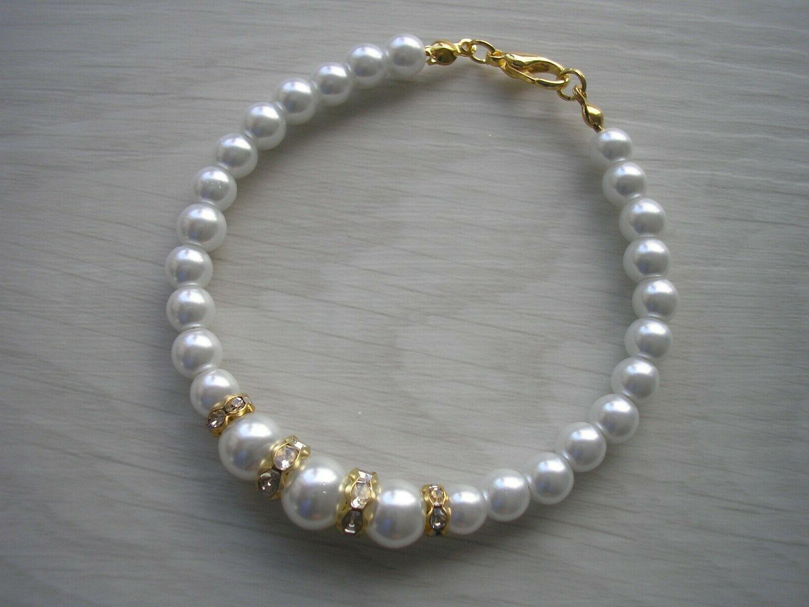 Pearl Ankle for Bridesmaids Jewelry E9AN
