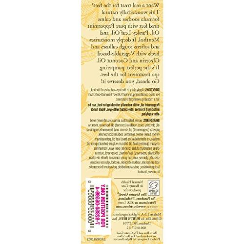 Burt's Bees Peppermint Lotion - Tube