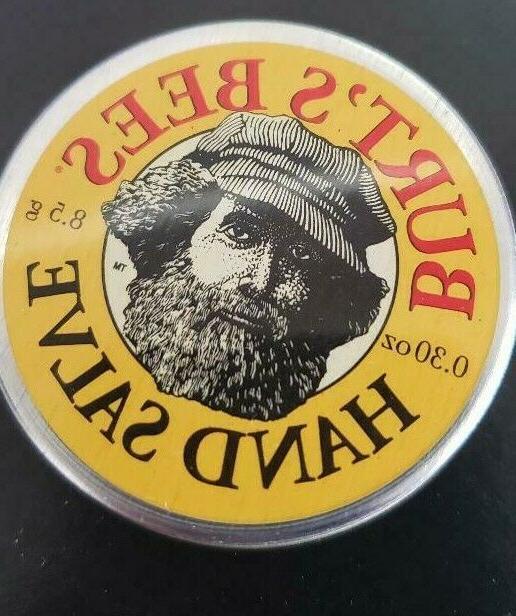 Burt's Bees Natural Remedies Mini Hand Salve 0.30 oz. tin
