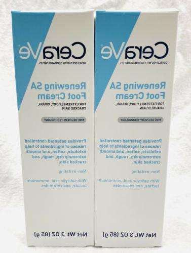 2 renewing sa foot cream 3 oz