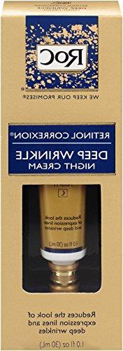 Roc Retinol Correxion Deep Wrinkle Night Cream, 1 Oz Tubes