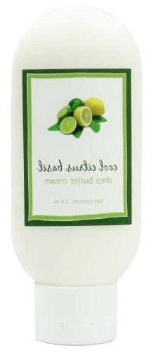Shea Butter Cool Citrus Basil Cream by MoonDance Soaps - Han