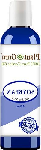 Soybean Oil 4 oz. 100% Pure Natural - Skin, Body And Face. G