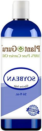 Soybean Oil 16 oz. 100% Pure Natural - Skin, Body And Face.