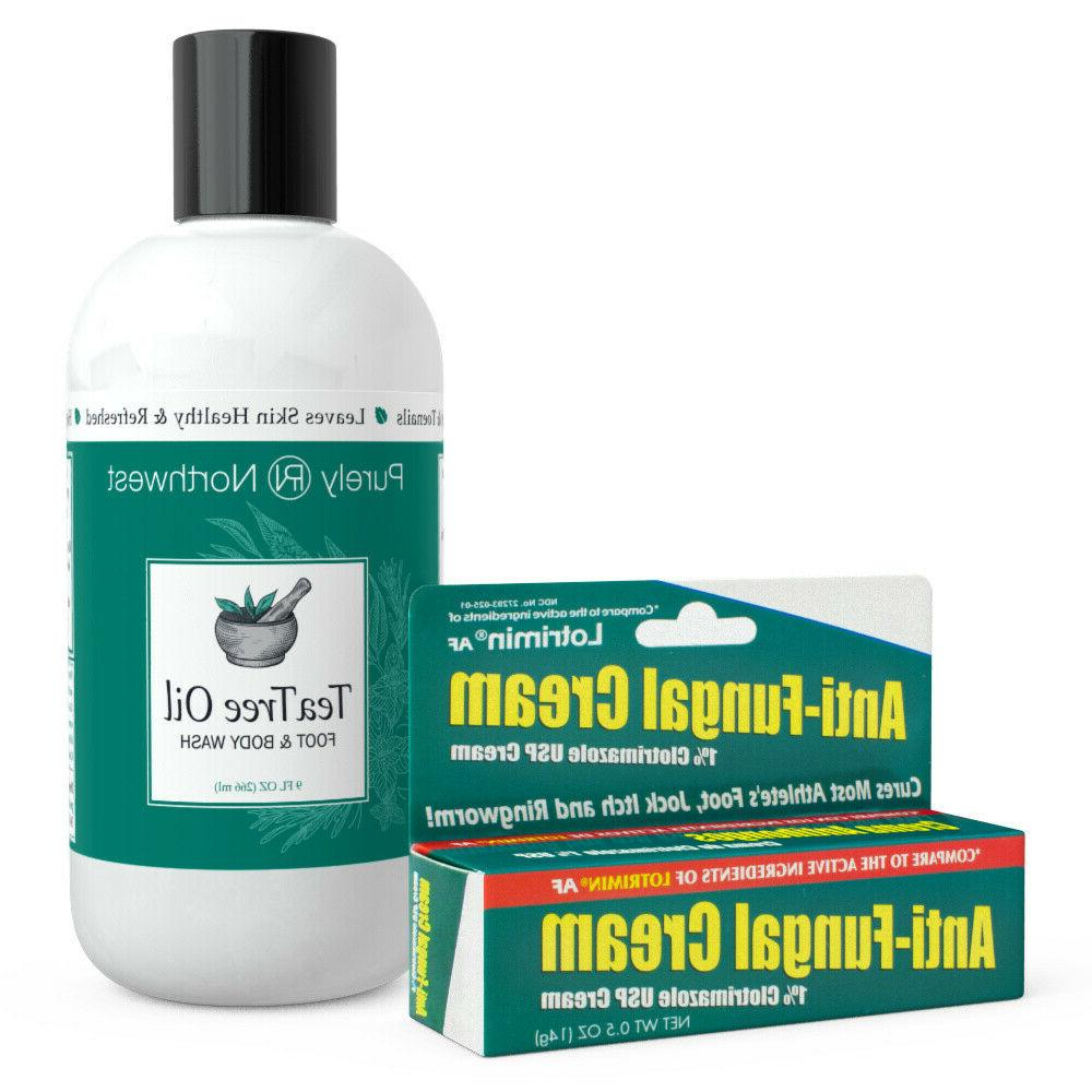 tea tree oil foot and body wash