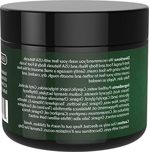 Tea Oil Cream - Instantly and Callused Relief Heel Cream Antifungal Treatment Helps Soothes Irritated Foot, Body