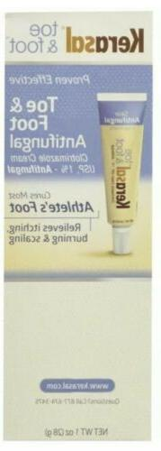 Kerasal toe & foot Anti- Fungal treatment cream *EXP 2017* O