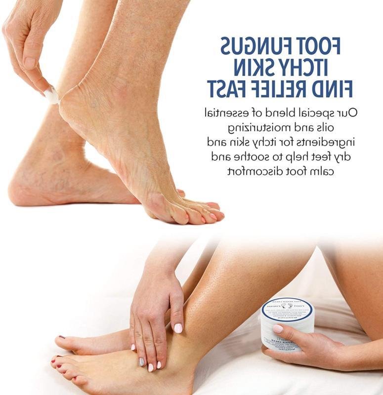 Toenail Fungus Treatment, Athletes Foot Cream, Dry And