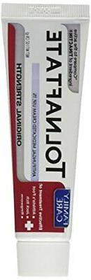 Family Care Tolnaftate Cream, Cure Athlete's Foot, 1 oz.