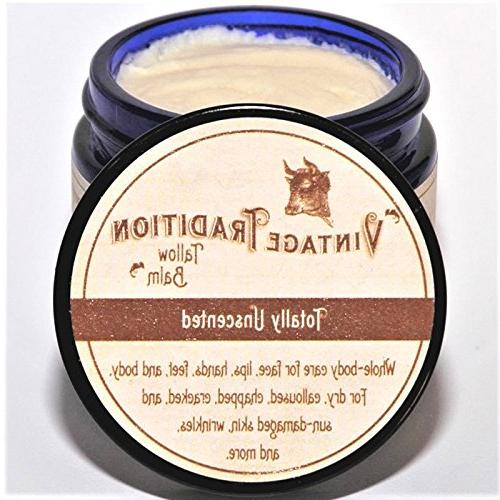 totally unscented tallow balm