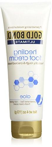 Gold Bond Ultimate Healing Foot Therapy Cream, 4 oz Pack of