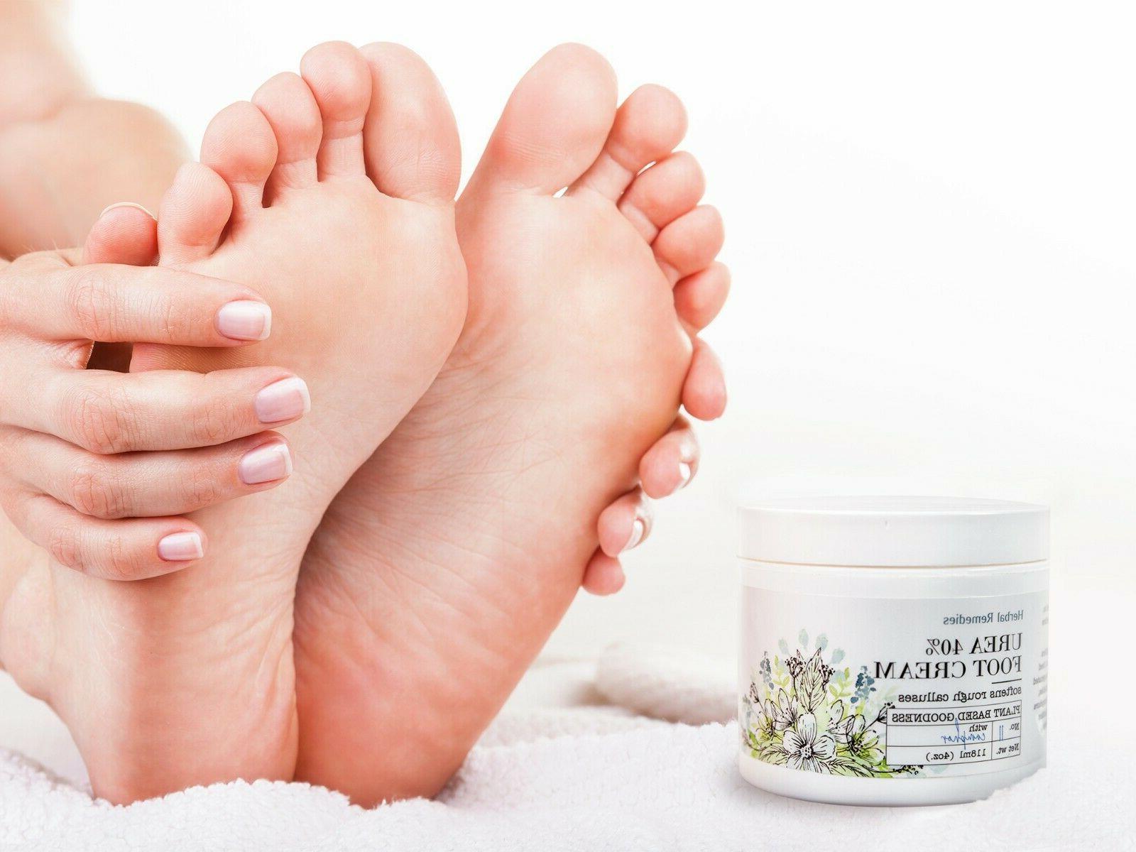 Herbal Remedies Foot Cream for Dry