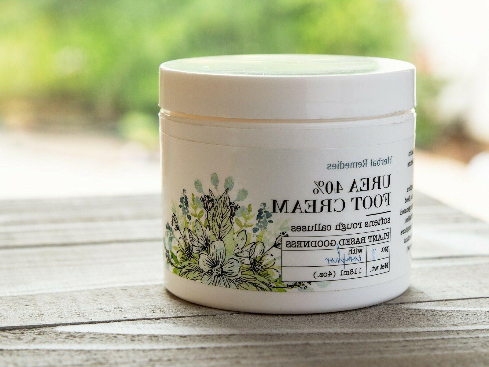 Herbal Remedies Urea Foot Cream Moisturizer for