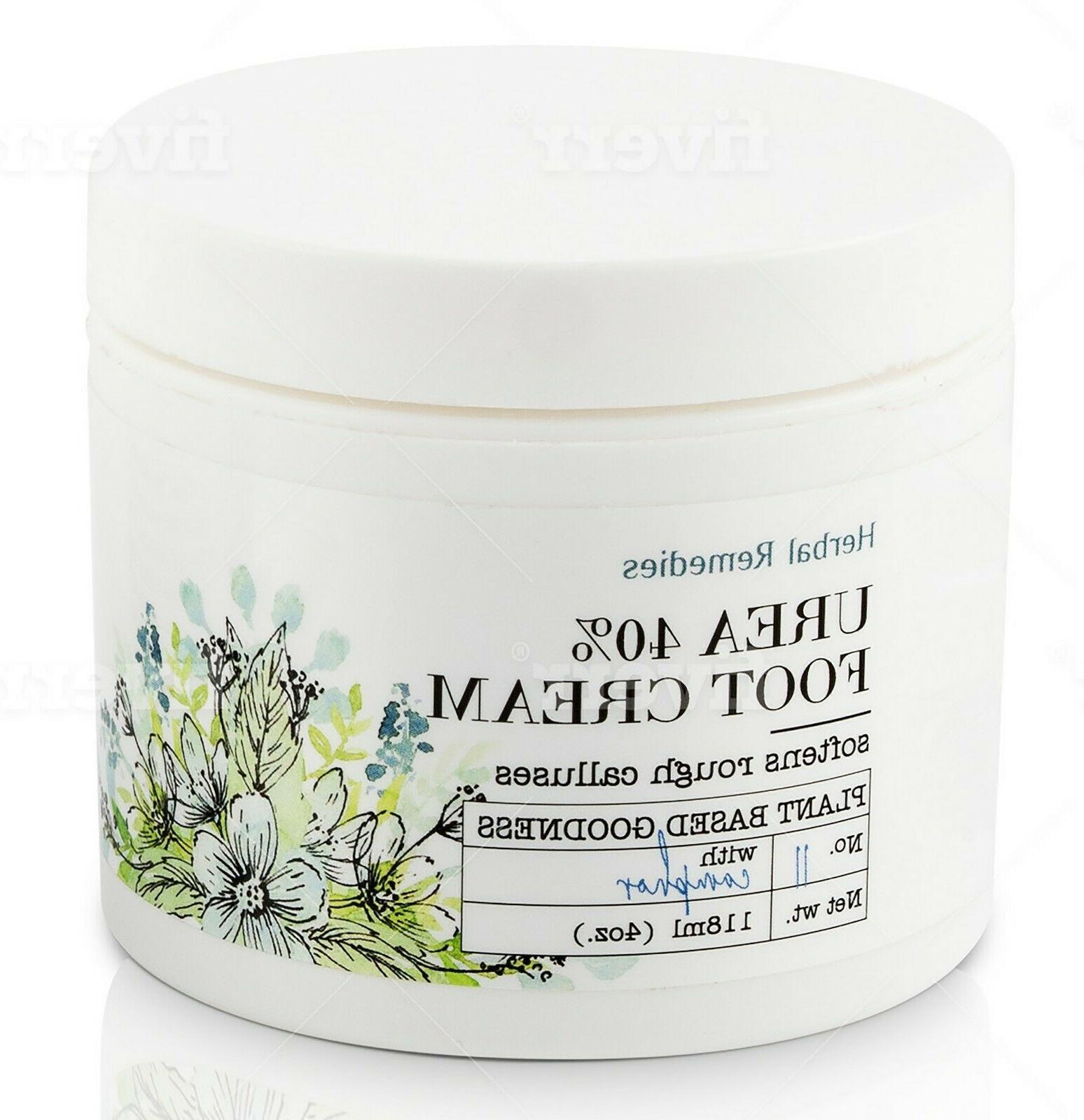 urea 40 percent foot cream humectant moisturizer