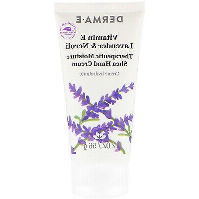 Derma e Vitamin E Intensive Therapy Hand Creme, 2 oz