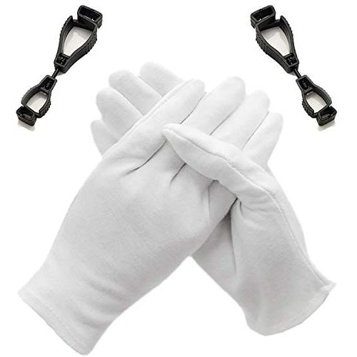 gloves cotton white