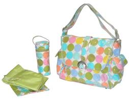laminated buckle bag